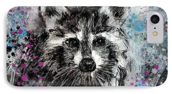 Expressive Raccoon IPhone 7 Case