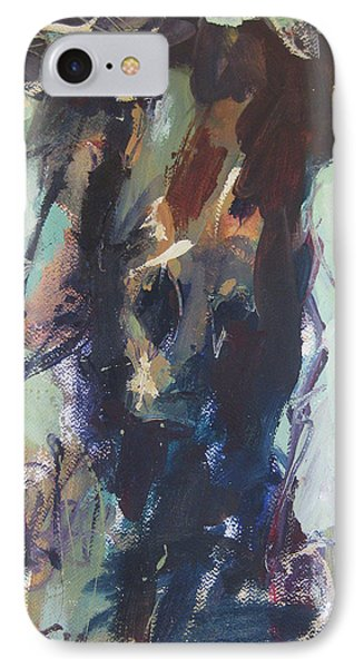 IPhone Case featuring the painting Expressive by Robert Joyner