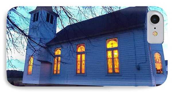 Exterior Church Evening IPhone Case