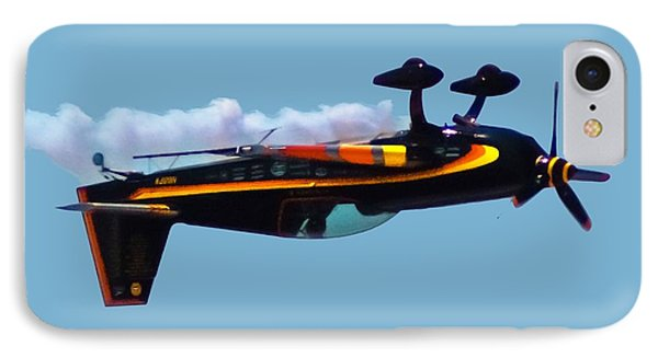 Extra 300s Stunt Plane Phone Case by DigiArt Diaries by Vicky B Fuller