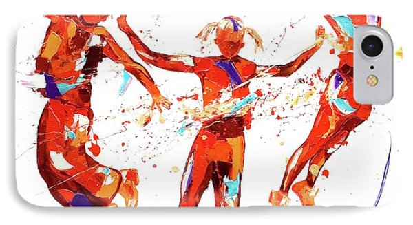Exuberance IPhone Case by Penny Warden