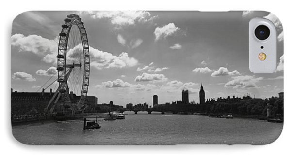 Eye And Parliament IPhone Case by Maj Seda