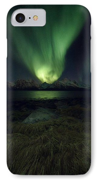 Eye In The Night IPhone Case by Tor-Ivar Naess