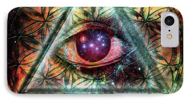 Eye Phone Case by Mynzah