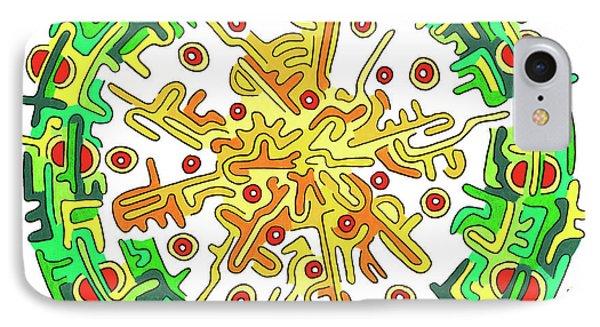 Eye Of Creation 7 Phone Case by Willem Janssen