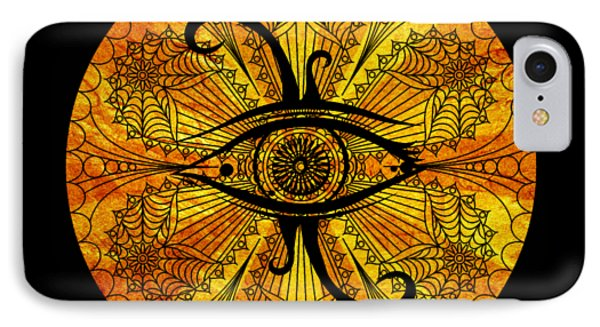 Eye Of Egypt IPhone Case by Islam Hassan