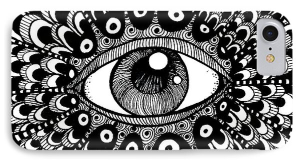 Eye Of March Phone Case by Nada Meeks