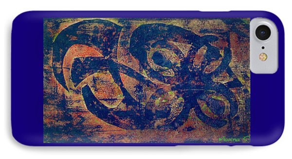 Blue Movement IPhone Case by M Images Fine Art Photography and Artwork