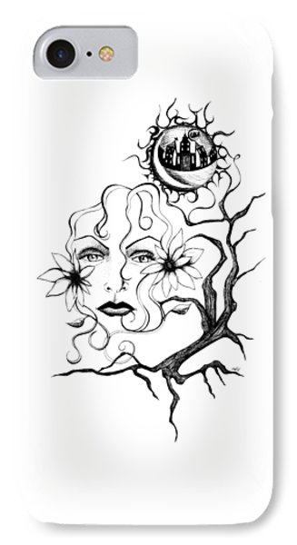 Eye Of The Beholder Phone Case by Shawna Rowe