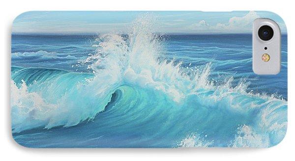 Eye Of The Ocean Phone Case by Joe Mandrick