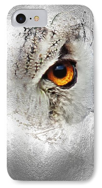 IPhone Case featuring the photograph Eye Of The Owl 2 by Fran Riley