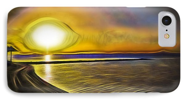 IPhone Case featuring the photograph Eye Of The Sun by Scott Carruthers