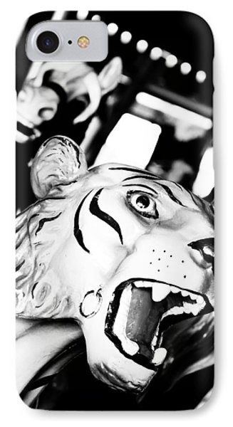 Eye Of The Tiger IPhone Case by Colleen Kammerer
