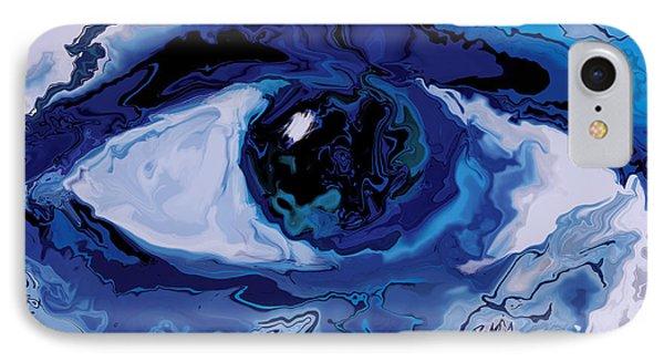 IPhone Case featuring the digital art Eye by Rabi Khan