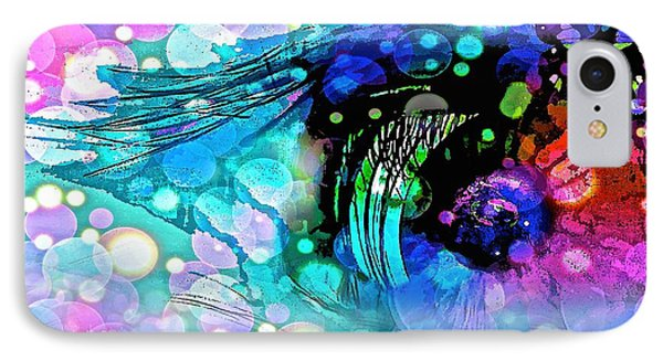 Eye See IPhone Case by Saundra Myles
