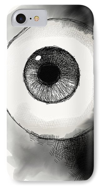 Eyeball IPhone Case by Antonio Romero