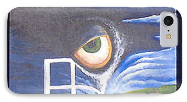 Eyefence IPhone Case by Steve  Hester