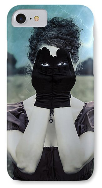 Eyes IPhone Case by Joana Kruse