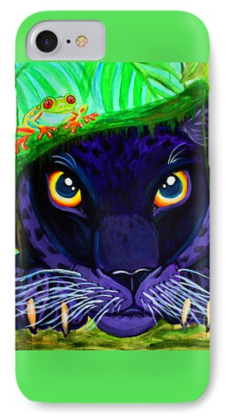Eyes Of The Rainforest IPhone Case