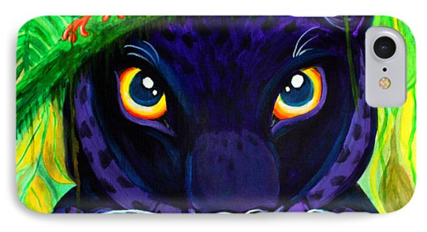 Eyes Of The Rainforest IPhone Case by Nick Gustafson
