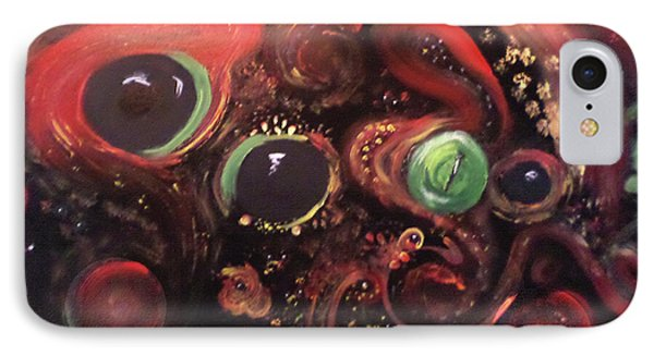 Eyes Of The Universe # 5 Phone Case by Michelle Audas