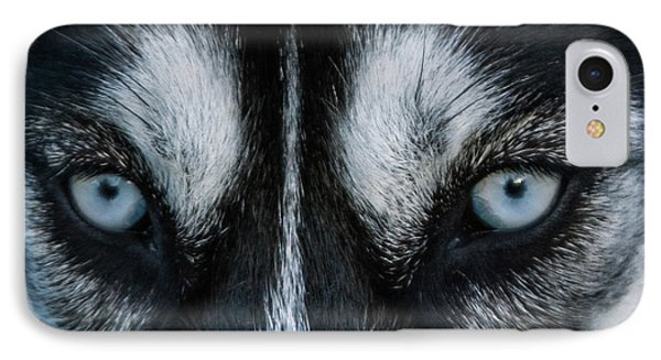 Eyes IPhone Case by Zina Stromberg
