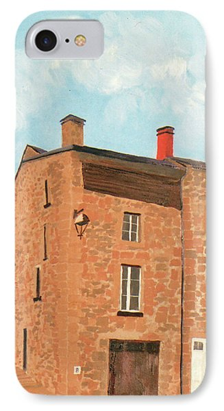 Eymoutieres House IPhone Case by Jeni Bate