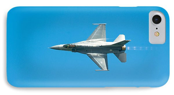 F-16 Full Speed IPhone Case by Sebastian Musial