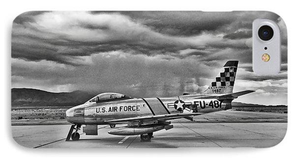 F-86 Sabre IPhone Case by Douglas Castleman