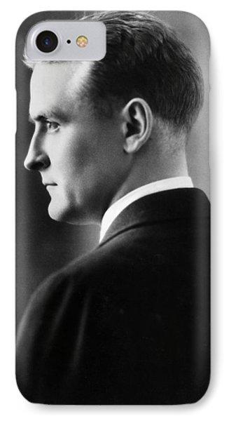F. Scott Fitzgerald Circa 1925 IPhone Case by David Lee Guss