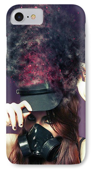 F U M E S  IPhone Case by Nichola Denny