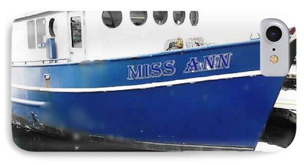 F V Miss Ann IPhone Case