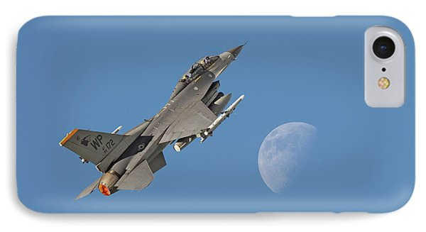 IPhone Case featuring the photograph F16 - Aiming High by Pat Speirs