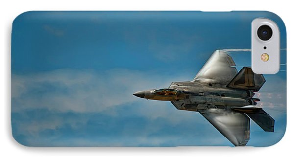 F22 Raptor Steals The Show IPhone Case by Dan McManus