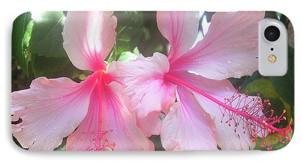 F4 Hibiscus Flowers Hawaii Phone Case by Donald k Hall