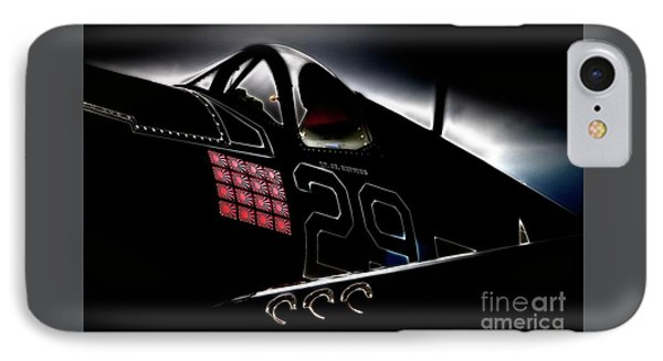 F4u Corsair Six Fifties Sixteen Kills Dark IPhone Case