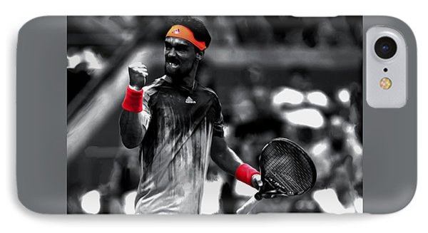 Fabio Fognini IPhone Case by Brian Reaves