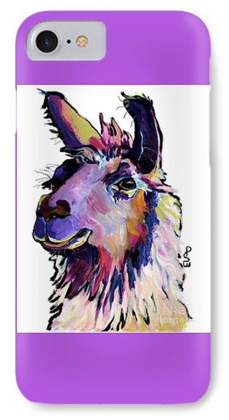 Fabio IPhone 7 Case by Pat Saunders-White