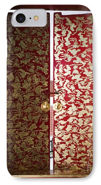 Fabric-covered Window IPhone Case by Andersen Ross