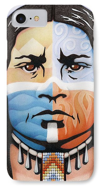 Fabric Of Harmony Phone Case by Amy S Turner