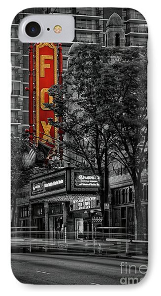 Fabulous Fox Theater Phone Case by Doug Sturgess