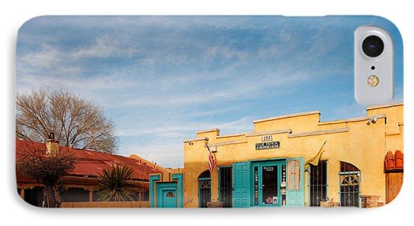 Facade Of A Souvenir Store At Old Town Albuquerque - New Mexico IPhone Case