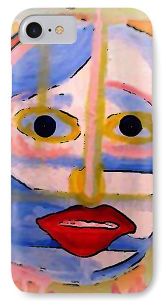 Face 1 IPhone Case by Gregory McLaughlin