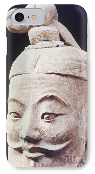 IPhone Case featuring the photograph Face Of A Terracotta Warrior by Heiko Koehrer-Wagner