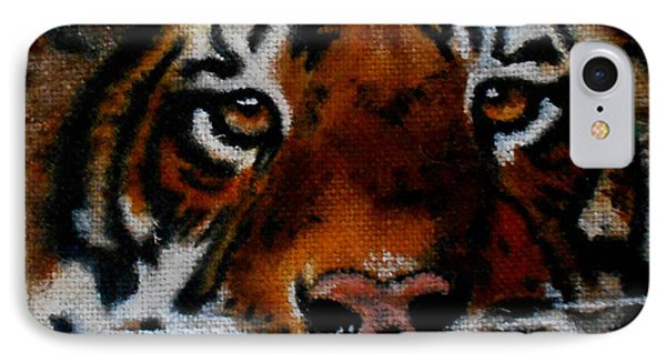 Face Of A Tiger IPhone Case
