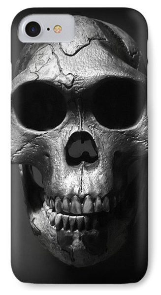 Face Of Our Ancestor - Australopithecus Afarensis IPhone Case by Daniel Hagerman