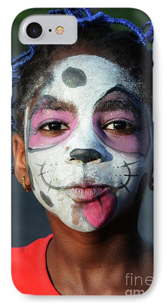 Face Painting 2 IPhone Case by Bob Christopher