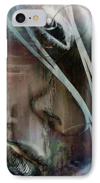 IPhone Case featuring the digital art Face Pop by Greg Sharpe