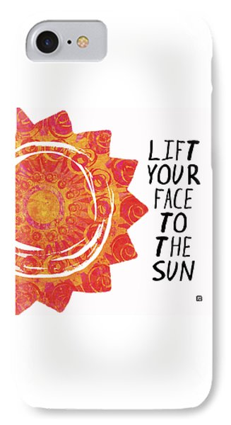IPhone Case featuring the painting Face To The Sun by Lisa Weedn
