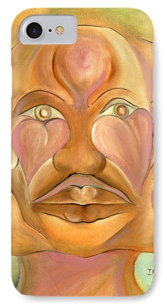 Faces Of Copulation Phone Case by Ikahl Beckford